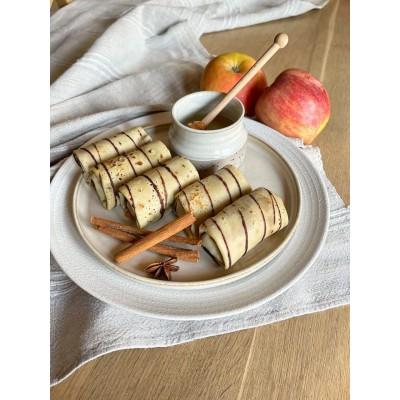 Млинці з яблуками та корицею 400г